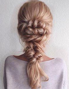 Stylish Mermaid Braids Hairstyles Ideas 2018