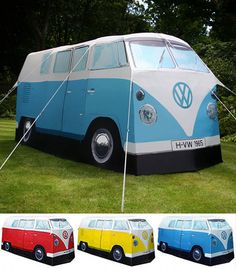 VW Camper Tent. I so want this! @Jenny Page