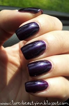 The Clover Beauty Inn: *Updated* NOTD: Gelish - Night Reflection