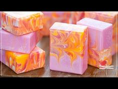 Making Ruby Red Soap - YouTube