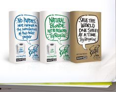 More humor from this toilet tissue paper company.  Be sure to zoom in and see the details here.