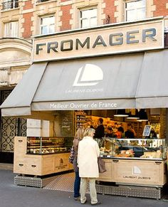 Fromager, Paris