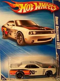 Hot Wheels 2010 Dodge Challenger SRT8, 1:64 Scale. by Mattel. $14.99. DODGE CHALLENGER SRT8 WHITE W/STRIPES. DIE CAST