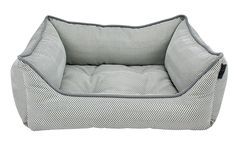 Details by Precious Tails Gray Herringbone Canvas Rectangular Pet Bed Cuddler with Gray Piping Small >>> Check out this great product. (This is an affiliate link and I receive a commission for the sales) #DogLovers
