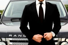Black Wool Blazer w/ Range accessory How To Look Rich, Classic Suit, Classic Style, Black Suits, Black Tie, Well Dressed Men, Suit And Tie, Gentleman Style, Luxury Lifestyle