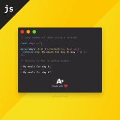 You can loop a predefined number of times using forEach in combination with Array.fill instead of a traditional for loop. Especially comes in handy for JSX Computer Technology, Computer Science, Html Cheat Sheet, Learn Computer Coding, Html Css, Computer Network, Interview Questions, Java, Python
