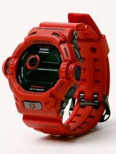 G-Shock, Tough Solar Riseman Casio G Shock Watches, Sport Watches, Casio Watch, Cool Watches, Watches For Men, Men's Watches, G Shock Frogman, Baby G, Luxury Watches