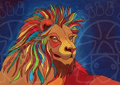 Rory Johnson  lion by Tortleart 2016