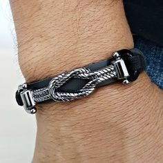 LightOnIt Womens Boho Wrap Leather Multilayer Wide Tree of Life Bracelets Jewelry for Women Teen Girl Gift – Fine Jewelry & Collectibles Bracelets For Men, Fashion Bracelets, Armani Watches For Men, Bracelet Clasps, Elegant Man, Chains For Men, Schmuck Design, Bracelet Designs, Leather Jewelry