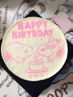 snoopy cheese cake
