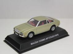 KONAMI MAZDA COSMO AP (CD23) RX-5 1975 GOLD 1/64 JAPAN #Konami #Mazda