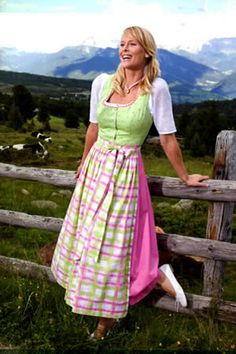 Bring back Dirndls as summer fashion! I'd love this dress at tea length.  So lovely.