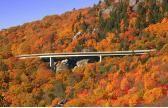 Blue Ridge Parkway -- America's favorite drive that offers must-see mileposts like ziplines, Mast General Store, folk art, Chimney Rock, Sliding Rock, Native American arts and crafts