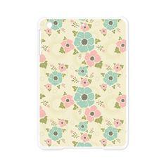 "Nostalgic flowers iPad Mini Case Beige seamless vintage pattern ""Nostalgic flowers""  $29.89"