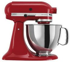 Mix it up. Not your typical stand mixer, the KSM150 stands out from the crowd of boring kitchen appliances with bold, refreshing color. QVC.com