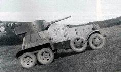 Ба - 6   средний советский бронеавтомобиль
