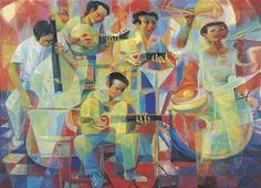 Vicente Silva Manansala (January 1910 - August was a Philippine cubist painter and illustrator. Manansala was born in. Filipino Art, Filipino Culture, Cubist Art, Philippine Art, Philippines Culture, Drawing Studies, Art Database, Magazine Art, Art Market
