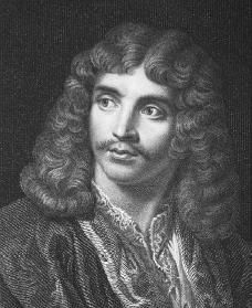 Moliere is a famous french playwright from the 17th century.