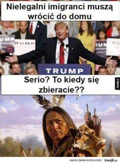Polscy internauci oceniają wybór Donalda Trumpa na urząd prezydenta USA Wtf Funny, Hilarious, Hahaha Hahaha, Russian Jokes, Tf2 Memes, Everything And Nothing, Life Humor, Funny Moments, Some Fun