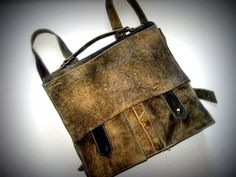 Women leather backpack/Mens leather by carmelisleather on Etsy
