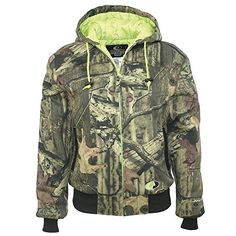 25b3d99414 Mossy Oak Womens Ladies Quilted Fleece Hooded Jacket Infinity Small -- You  can get additional