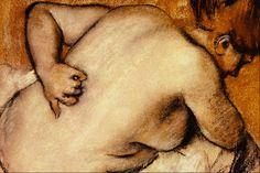 Nude Scratching Her Back  Edgar Degas
