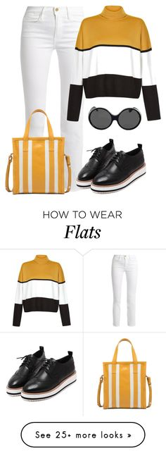 """Untitled #2169"" by rowan-asha on Polyvore featuring Frame, WithChic, Balenciaga and Yves Saint Laurent"