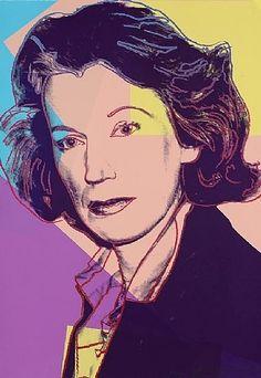 Andy Warhol, Mildred Scheel, FS II.238