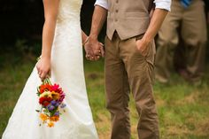 Colorful Rustic Wedding with Sweet, Handmade Elements by Menning Photographic | Hey Wedding Lady
