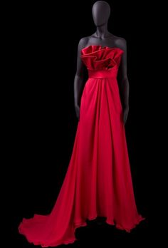 A-line Strapless Ruched Layered Bodice Matching Waistband Satin Evening Dress-soe0066, $169.95