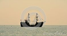 Ship Sailing On The Sea - Download From Over 40 Million High Quality Stock Photos, Images, Vectors. Sign up for FREE today. Image: 59678288