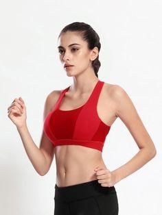 da0ac6c9e5193 Professional Shake Proof Sports Bra. Yoga FitnessFitness TopWorkout Tank  TopsWorkout ShirtsVest TopsGym VestsWomen s ...