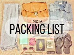 Packing your bag for India is not an easy task because it's not a country with one single climate. Oh no! There is the beach, the cold mountains, the desert, the jungles, the cities... It's no really easy to choose what to take with you when you vi