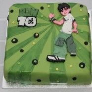 Ben 10 Birthday Cake For Boys - Birthday Cake Blue Ideen 10th Birthday Cakes For Boys, 10 Birthday Cake, Birthday Fun, Birthday Ideas, Baby Boys, Ben 10 Cake, Mint, Fondant Toppers, Cake Pictures