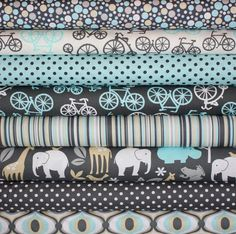zoology by Michael Miller Fabrics (via etsy fabric shoppe) LOVE