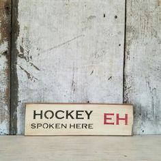Hockey Sign Tis the Season Rustic Hockey Sign Primitive Sign Painted Wood Hockey Sign Pine Shelves, Sports Signs, Pine Boards, Primitive Signs, Salvaged Wood, Made Of Wood, Painted Signs, Tis The Season, Painting On Wood