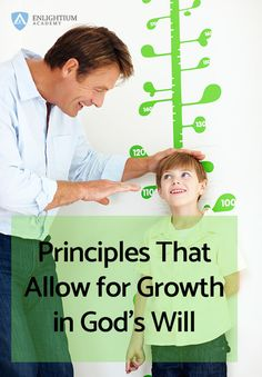Principles that Allow for Growth in Gods Will Pin