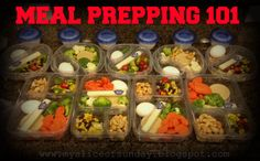 Meal Prepping 101 - Meal Prepping Ideas for week to week planning of clean eating. FAIL TO PLAN, PLAN TO FAIL
