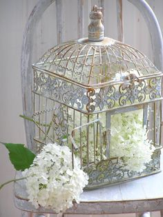 There's just something about birdcages that i love. Pretty - Peaceful