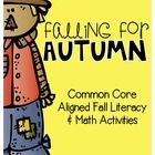 Falling for Autumn {Fall Literacy and Math Activities} for 1st grade