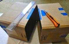 Tu Organizas.: Organizador de caixa de papelão