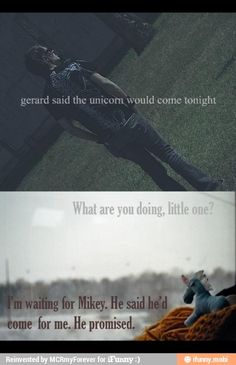 Mikey Way unicorns my chemical romance / iFunny :)