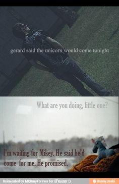 Mikey Way unicorns my chemical romance / iFunny :)