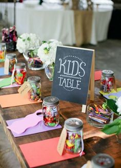 A bride spends months thinking over every detail of her wedding, from the dress to what will be served at the cocktail hour. Each aspect of the big day has been carefully planned, but what to do with the children who attend is often overlooked. Moms and Dads know it can be difficult to bring kids to