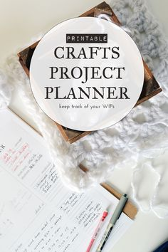 'The hassle-free way to plan your next DIY (printable)...!' (via Crafting Fingers)