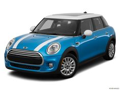 5 door mini cooper blue and white stripes - Google Search