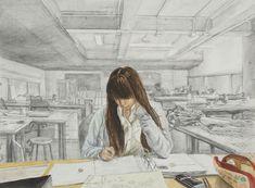 study of the art room