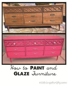 How-to-paint-furniture | Uptown DIY
