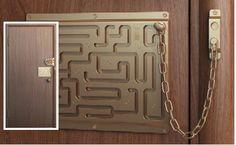 Unlocking the door just got a wee bit more complicated ...