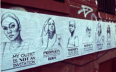 Stop telling women to 'smile': New York street art says it how it is - Telegraph